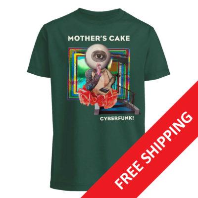 """Green Shirt """"Cyberfunk!"""""""